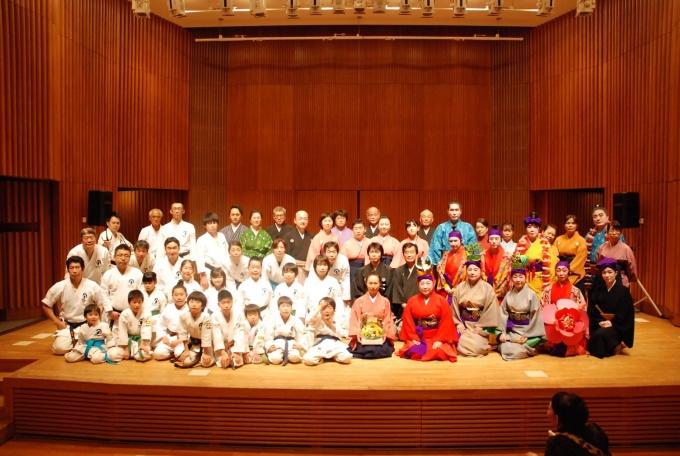 平成30年3月21日(水祝)第4回琉球古典芸能と空手の集い 於大泉学園ゆめりあホール①
