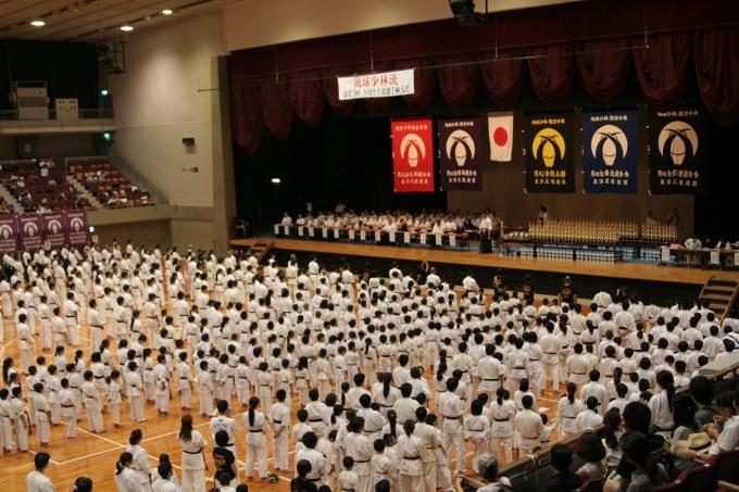 平成29年8月20日 琉球少林流月心会第23回全国空手道選手権大会