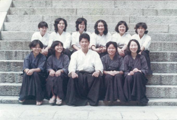 51年前比叡山空手合宿②