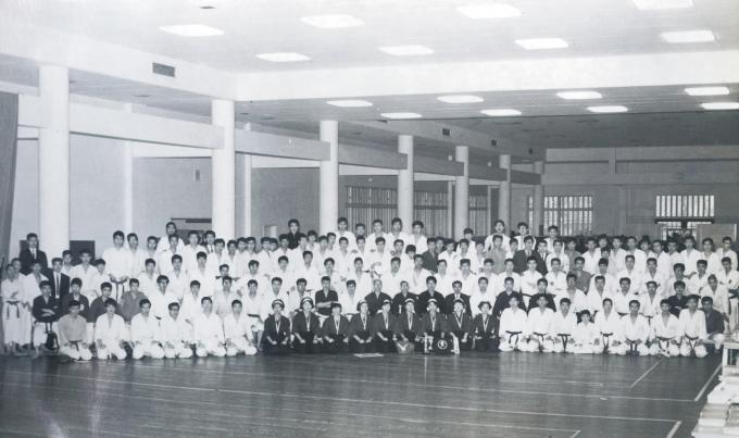 51年前の空手道大会①