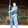 平成30年9月9日靖国神社古武術奉納演武会 関教師 徳嶺ぬ棍