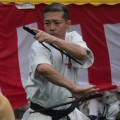 平成28年7月30日 たまプラーザ祭り 永田靖彦さん 北谷屋良の釵