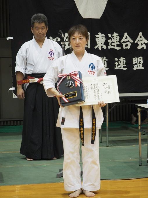 令和元年6月2日第103回関東大会 MVP 永原圭子さん