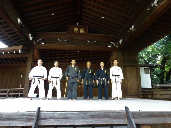 平成30年9月9日靖国神社古武術奉納演武会