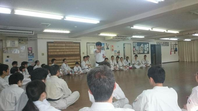 月心会空手講習会 平成29年3月20日 たまプラーザ道場③
