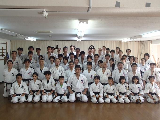 平成29年9月18日たまプラーザ道場にて空手講習会