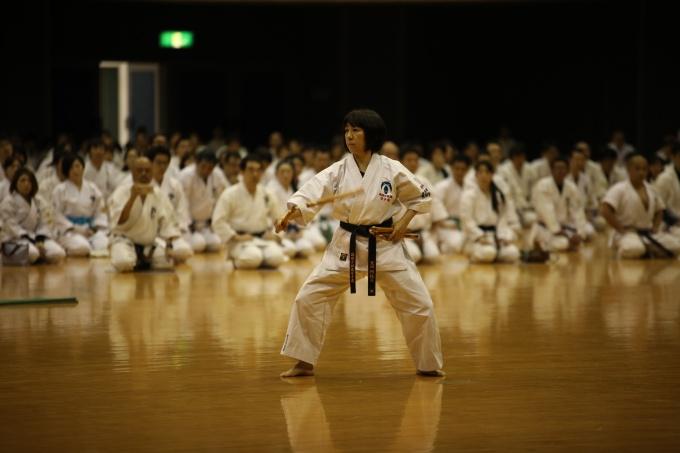 平成30年3月18日第96回関東大会 演武 黒田師範
