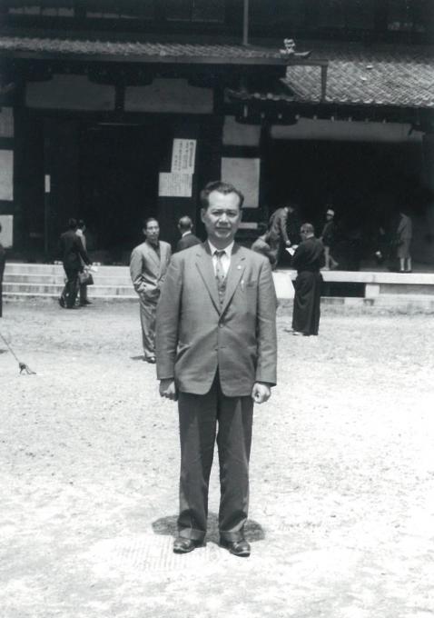 古武道の師 中嶋浅吉先生