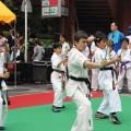 平成27年7月25日 たまプラーザ夏まつり空手演武 5