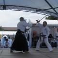 平成30年7月8日 日蘭友好サムライフェス古武術演武祭 於 上野恩賜公園 棒術組手