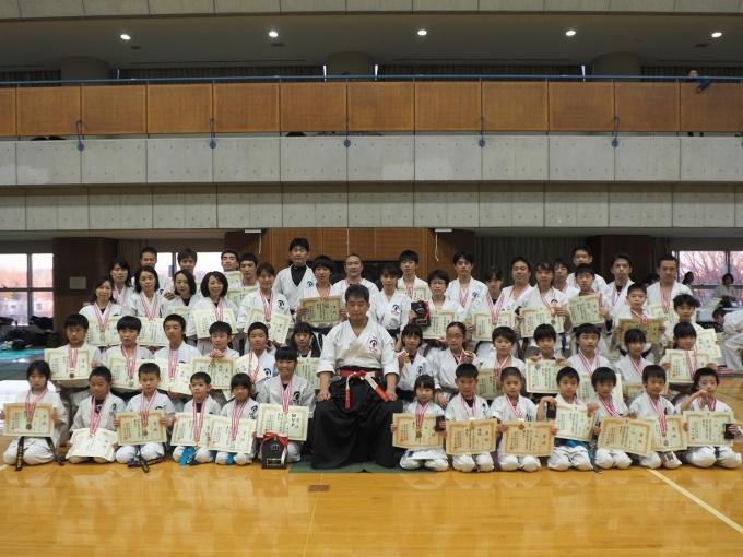 平成30年1月13日第95回関東大会 組手の部上位入賞者