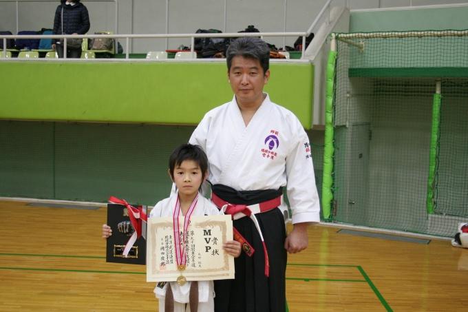 平成29年2月26日 第90回関東大会 MVP丸田拓矢さん