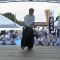 平成30年7月8日 日蘭友好サムライフェス古武術演武祭 於 上野恩賜公園 徳嶺ぬ棍 関教士