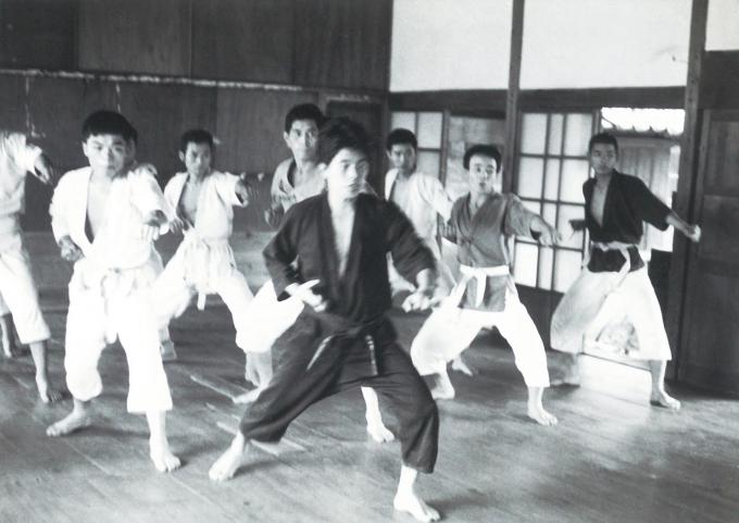 55年前の岡田道場①